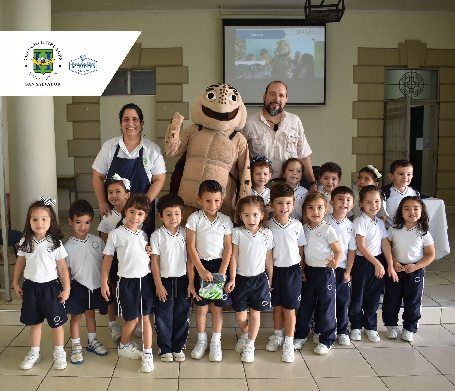 Niños y Tortugas
