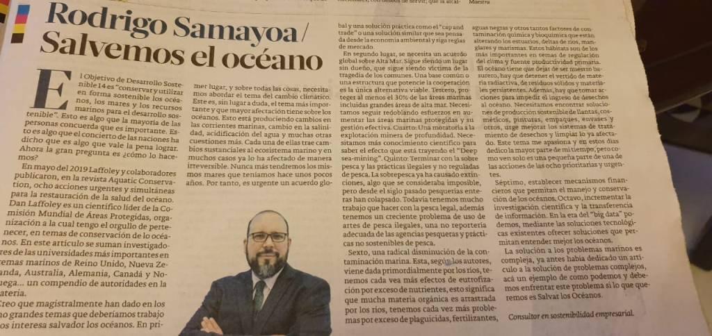 Salvamos el océano